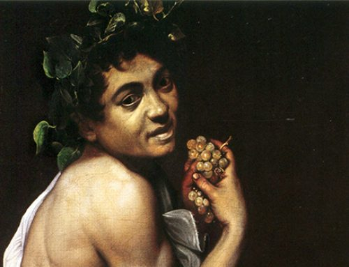 Self Portrait as Bacchus